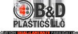 B&D Plastics Logo